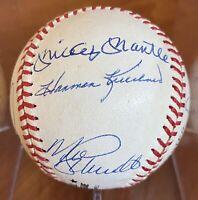 👍500 Home Run Club JSA Certified Baseball Mantle Williams Aaron (11 Total)👍
