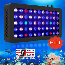 LED Aquarium Light 165W Full Spectrum Dimmable Lamp for Marine Reef Coral Tank