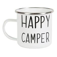 Happy Camper Enamel Camping Mug by Sass & Belle