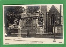 St Mary's Conduit Lincoln RP pc unused Harrison Ref K321