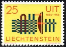 (Ref-12517) Liechenstein 1965 International Telecommunications  SG.452  Mint MNH