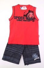 Marvel Ultimate Spider-Man Crime Fighter Boys 2 Piece Set Outfit Sizes 4 NWT