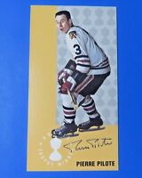 PIERRE PILOTE SIGNED 1994 PARKHURST HOCKEY CARD #145