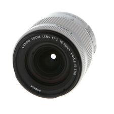 Canon EF-S 18-55mm f/4-5.6 IS STM Autofocus Lens for APS-C DSLR, Silver {58} EX