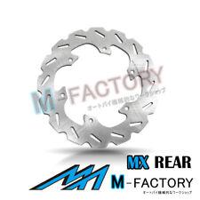 Rear Brake Disc MX Rotor x1 Fit SUZUKI RM 125 89-98 90 91 92 93 94 95 96 97