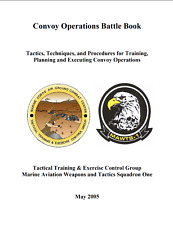 148 Page Usmc Marine Corps Aviation Tactics Convoy Operations Battle Book on Cd