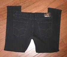 Guess Los Angeles Slim Fit Tapered Leg Black Jeans Men's 36 x 30 EUC!