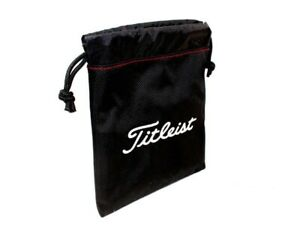 TITLEIST valuables bag - Titleist bag draw string pouch with soft interior