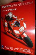 New Ray 42195 2004 Ducati Corse DESMOSEDICI LORIS CAPIROSSI 1/12 MOTORCYCLE KIT