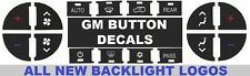 GM AC Dash Button Repair Kit Fix Ruined Faded A/C Controls Durable 2 PACK