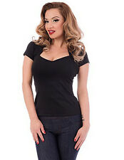 Steady Clothing Black Sophia Womens Top Made in USA