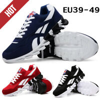 Men's Casual Walking Trainers Sneakers Breathable Fitness Mesh Shoes Sports Size