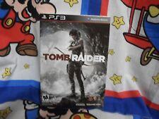 Playstation 3 Tomb Raider Complete CIB w/ box & art book Game  COMPLETE