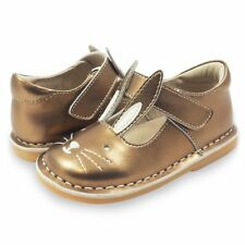 NEW Livie & Luca leather girl's shoes Molly in Copper - toddler size 5-11