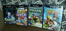Gamecube 4 Games Lot - Pikmin / Casper / Disney's Party / Over the hedge