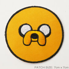 "ADVENTURE TIME ""JAKE"" Embridered Iron-On Patch - UK Seller, Free Post, #2U02"