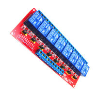 Contactors 8 Channel 3V Relay Shield Module Board Optocoupler for
