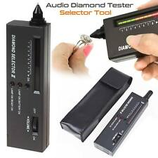 LED AUDIO gioielli Diamond Gemstone tester strumento di selezione nera di alta precisione