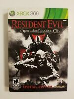 Resident Evil: Operation Raccoon City Steelbook (Xbox 360, 2012) Tested