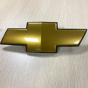 For 2007-2014 Chevy Suburban 1500 Tahoe Gold Grill Bow tie Bowtie Emblem