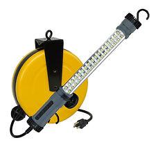 Auto Repair LED 500 LUMEN RETRACTABLE CORD WORK TROUBLE LIGHT REEL 5050SM
