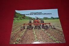 International Harvester Front & Rear Mounted Cultivators Dealer's Brochure Tein