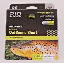 Rio InTouch OutBound Short WF7I/S3 Fly Line ON SALE 6-21071
