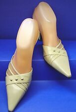 edc0a3d2eacb STUART WEITZMAN Made in Spain Ivory Leather 2.5