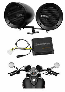 Memphis Audio Motorcycle Audio System For Royal Enfield Classic Chrome