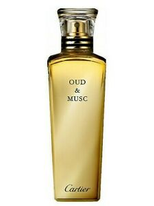 OUD AND MUSC by Cartier Unisex 75 ML, 2.5 fl.oz, As Pictured (T) WITH CAP NO BOX