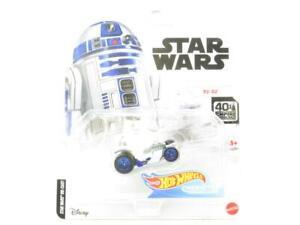 Hot Wheels Star Wars R2-D2 Personnage Voitures GJH91 Long Carte 1 64 Echelle