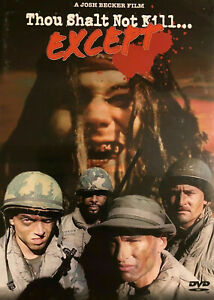 Thou Shalt Not Kill Except DVD 1985 Stryker's War - Rare Horror War Movie OOP