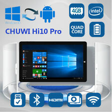 "10.1"" CHUWI Hi10 Pro 2 in 1 Tableta PC 64GB Windows10 + Android5.1 WiFi 2 Camera"