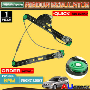 For BMW E46 323i 235i 238i 330i 1998-2005 Window Regulator W/o Motor Front Right