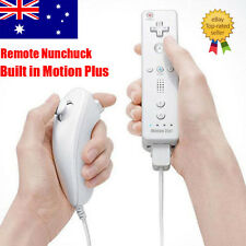 Hot White Built in Motion Plus Remote and Nunchuck Controller for Nintendo Wii