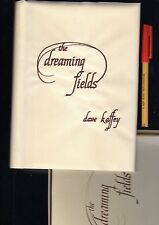 SIGNED Boxed EMBROIDERED Silkeen Dustjacket THE DREAMING FIELDS 103pg hardcover
