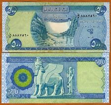 Iraq, 500 Dinars, 2004, First Post-Saddam Issue, Pick 92, UNC