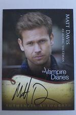 The Vampire Diaries season 1 Matt Davis Alaric Saltzman A10 autograph auto card