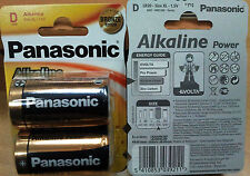2 x Pila Alcalina D LR20 1,5v PANASONIC Alkaline Power, XL, AM1, MN1300