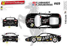 """[FFSMC Productions] Decals 1/43 Ferrari F-430 Challenge """"La Roche and Co"""""""