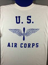 WWII US Army Air Corps Reproduction T Shirt with Spec Tag, Men's size S - XL