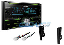 NEW PIONEER STEREO RADIO W AUX/USB INPUT & CD PLAYER & BLUETOOTH W INSTALL KIT
