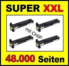4 x Toner für Konica Minolta MagiColor 5550 5570 5650 A06V153 A06V253 -A06V453