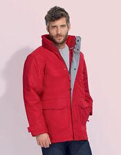 Cappotti e giacche da uomo stile parka con cappuccio con cerniera
