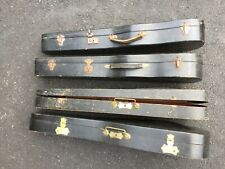 Old Antique Violin Cases 100 Years Old Lot Of Four 4