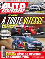 AUTO HEBDO n°2111 NEUF du 26/04/2017 : F1 & WRC performances 2017 - BMW M4 GT4