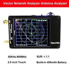 Nanovna 50khz 900mhz Vector Network Analyzer Uhf Vhf Vna Hf Uv Antenna Analyzer