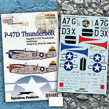 P-47 Bubbletops of the 368th Fighter Group (1/48 decals, Superscale 481236)