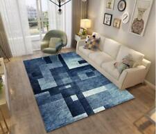 3D Blue Graphics Splice Non-Slip Rug Door Shower Play Mat Hearth Floor Carpet 24