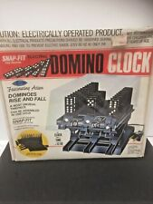 Vintage 1981 Arrow Snap Fit Electric Domino Clock Nos Sealed Original Box